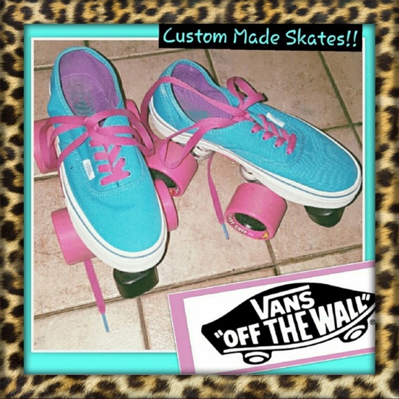 85c292260b9a9 VANS-Girls Custom Made Roller Skates